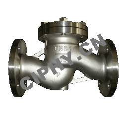 CARBON STEEL OR STAINLESS STEEL LIFT CHECK VALVE BOLTED BONNET DESIGN