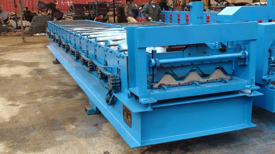 high quality roof roll forming machine