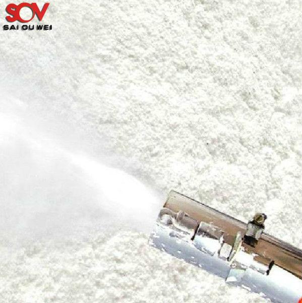 Inorganic fibers spraying mineral wool