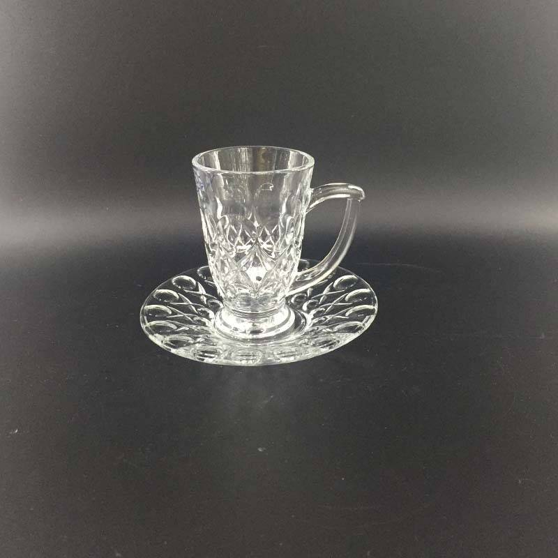 High quality glass coffee set 12076