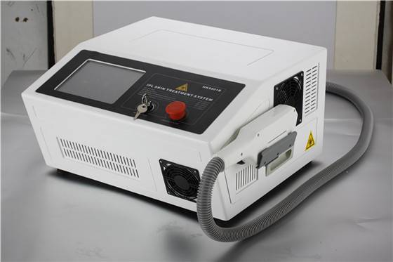 Portable IPL+RF function for hair removal machine in spa use