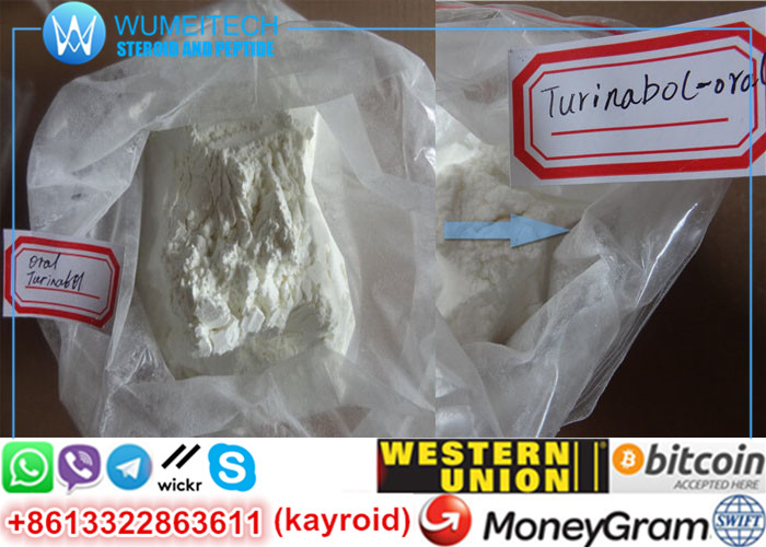 Oral Turinabol 4-Chlorodehydromethyltestosterone Powder Tbol Legit Raw Steroid Source
