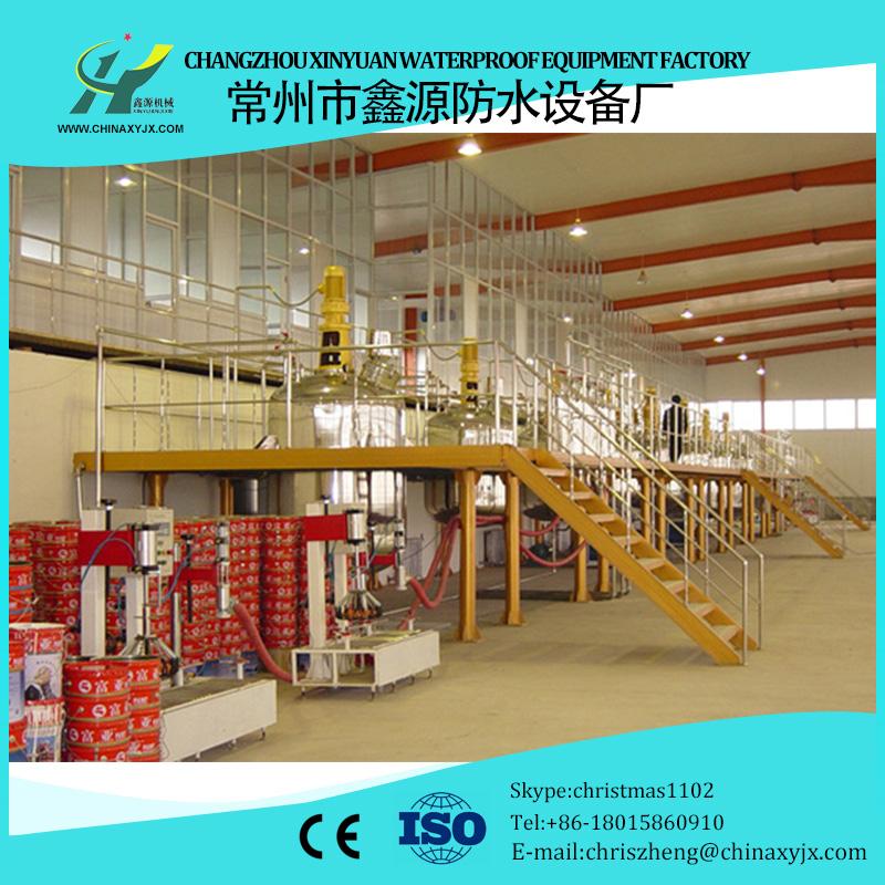 Automation polyurethane waterproof coating prodcution machinery