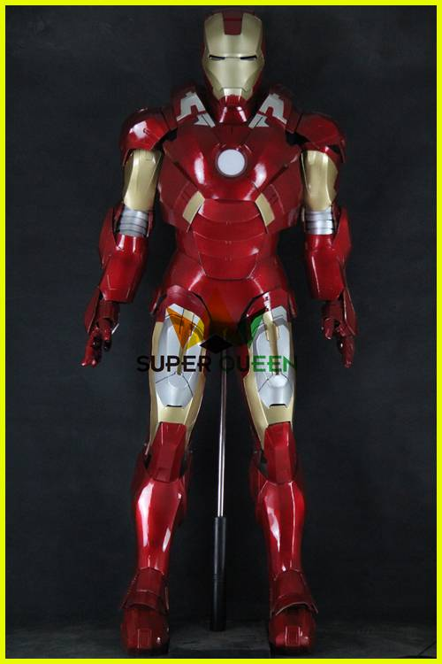 Full Body Iron Man armor, Cosplay Iron Man, Adults Iron Man Suit Armor