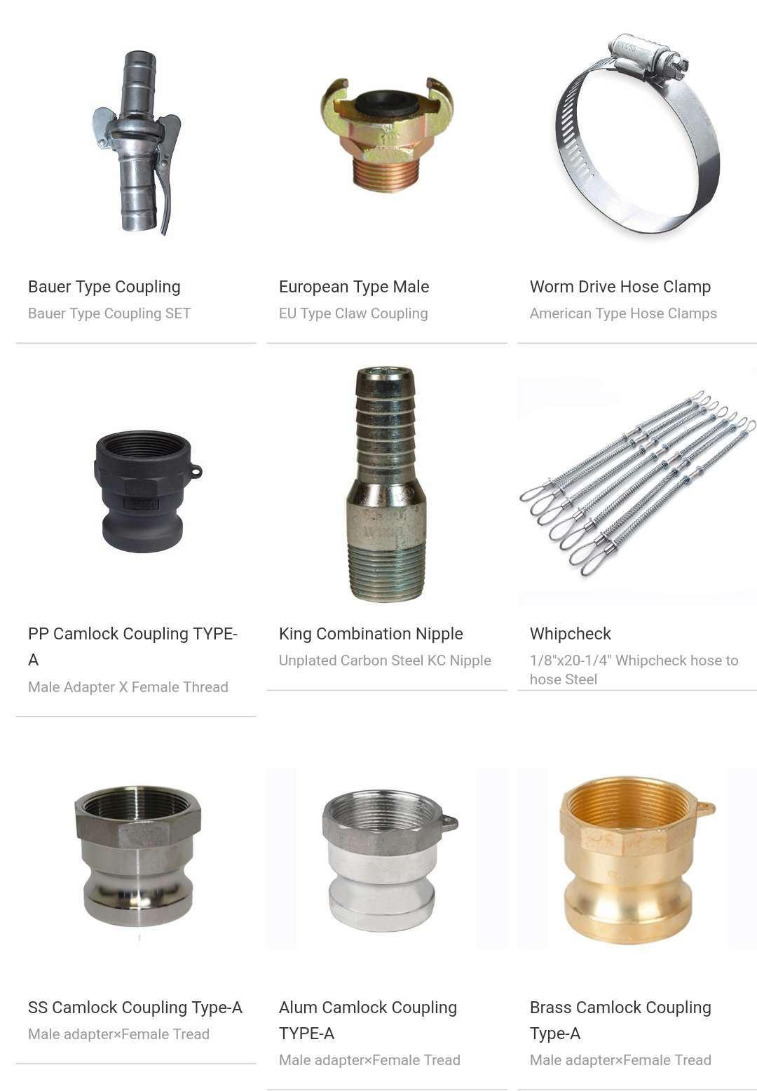 China supplier quality camlock coupling