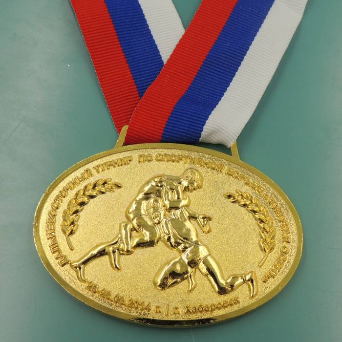 High quality customer required design custom metal medallion