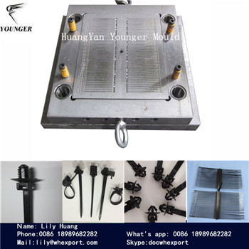 nylon plastic cable tie mould