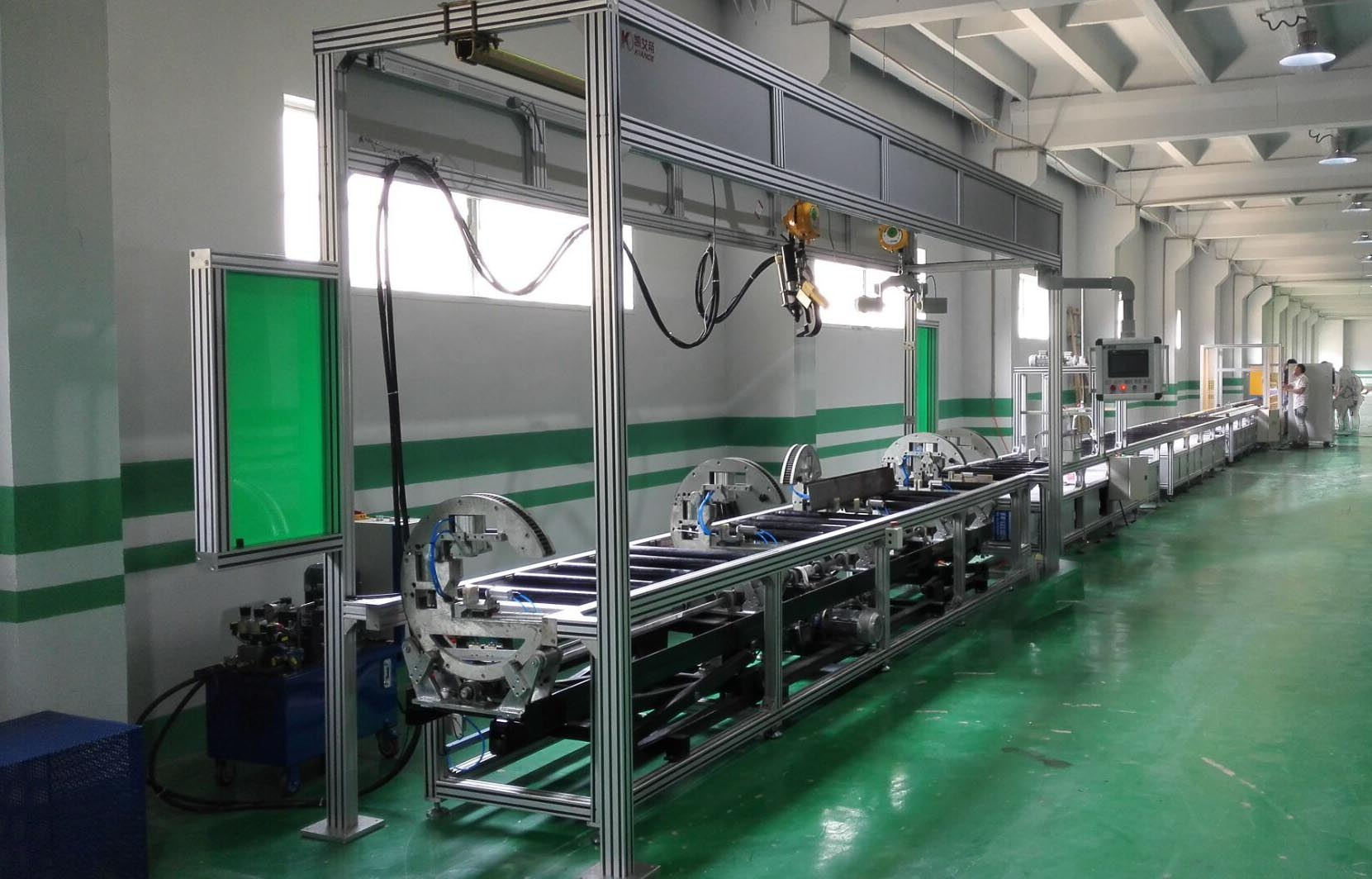 Busbar semi-automatic reversal assembly line, busduct production equipment