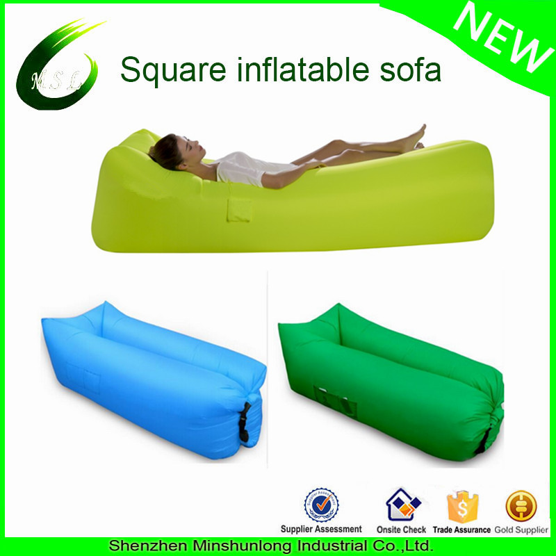 2017 new style sofa laybag infaltable chair inflatable lounger lazy bag factory