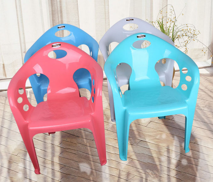 Stackable high quality PP plastic chair