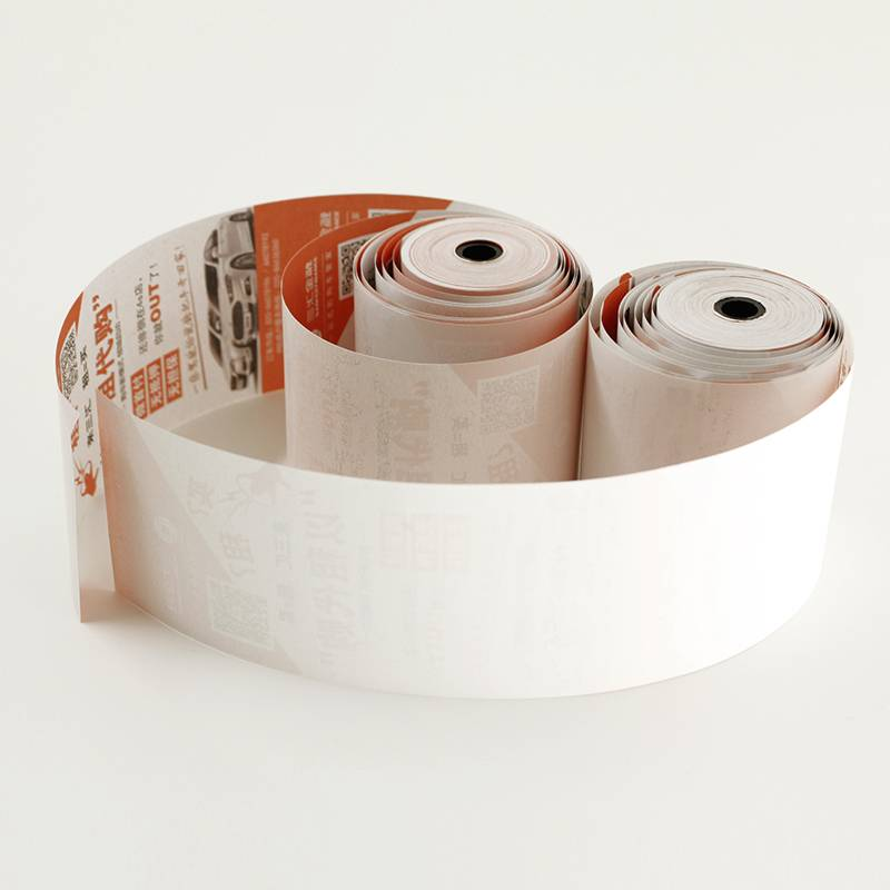 "2 1/4"" preprint paper roll cashier register thermal paper roll"