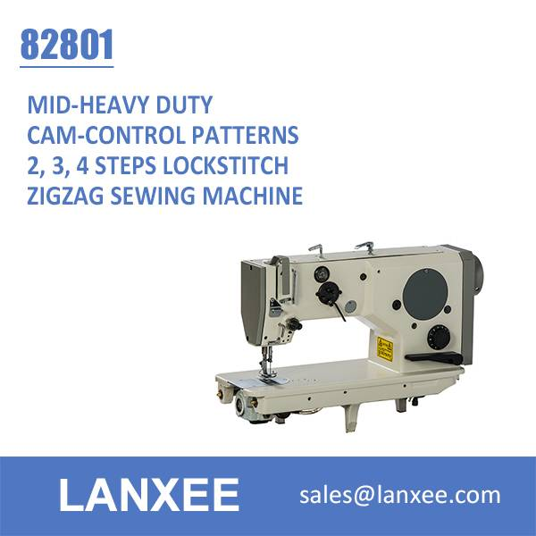Lanxee 82801 Industrial High Speed Zigzag Sewing Machine