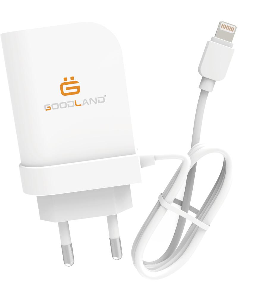 2USB Smart ID BRAND GL-AC02 Mobile Wall/Home AC Adapter DC5V-2.4A EU Plug