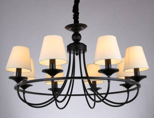ritzy chandeliers with American style lamp