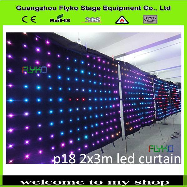 china suppliers sex video flexible led curtain for stage backdrops