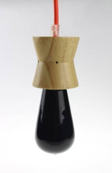 Wood pendant lamp$3.55