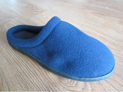 Men's Velvet Memory Foam Indoor Slippers