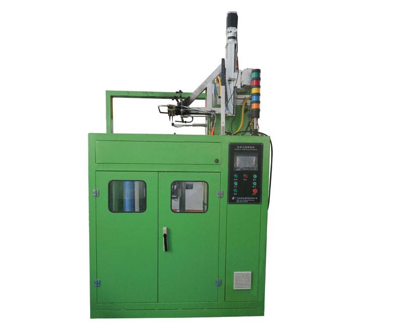 Production Online 3D Automatic Flame Brazing Machine