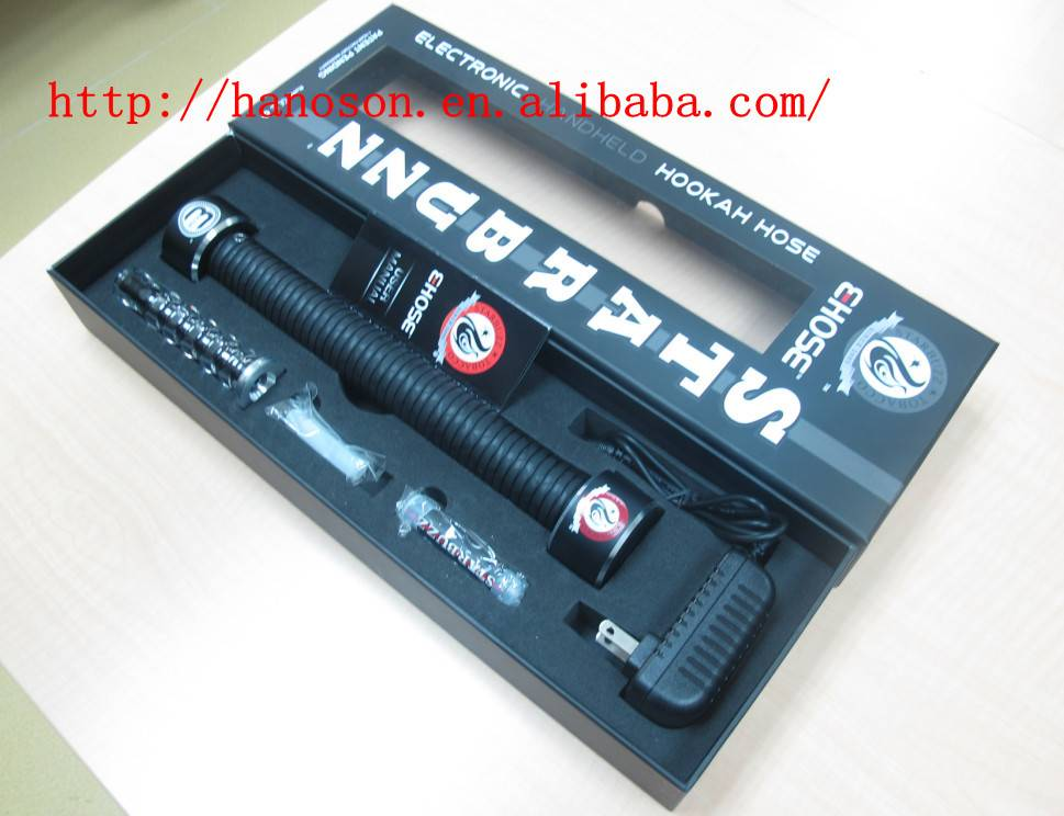 2014 Top Quality starbuzz e hose Huge Ehose Electronic Cigarette Hookah E Hose e hose