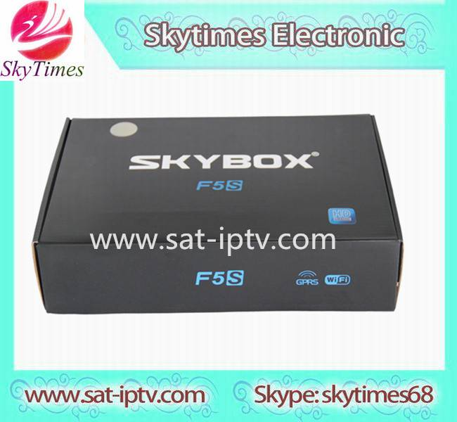 sky box hd skybox F5S full HD satellite tv receiver support USB wifi 3G