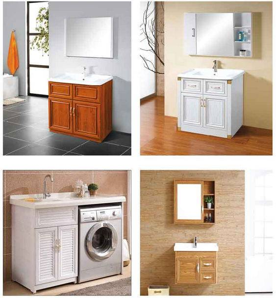 2016 Brand New Aluminum furniture Aluminum bathroom cabinet