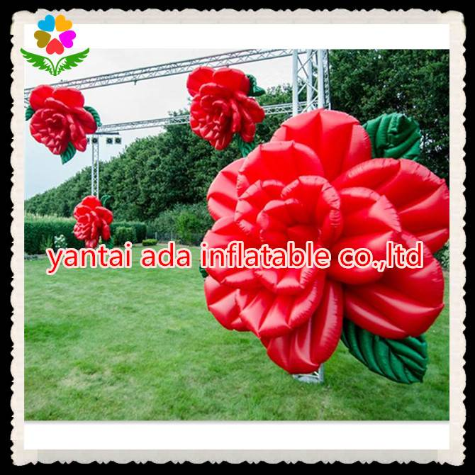 Inflatable Rose Flower