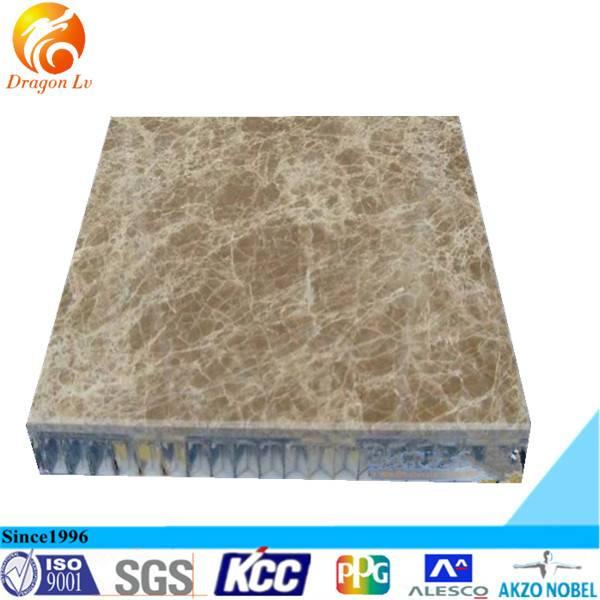 Building curtain wall stone aluminum honey comb panel