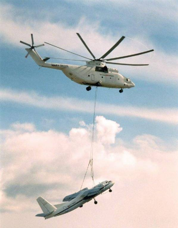 Wind Turbin Blade Transportation by Helicopter