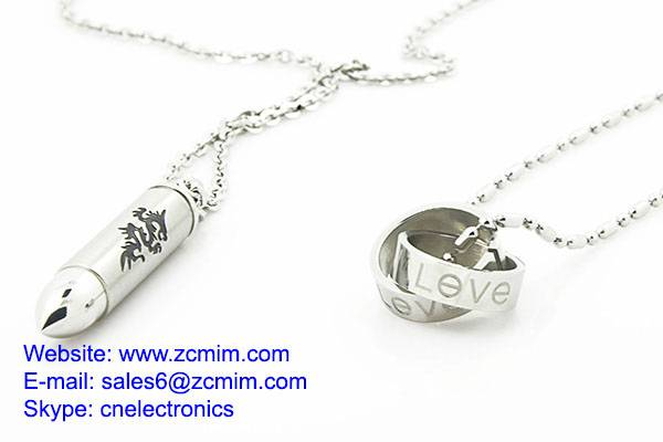 Small Precision Metal Injection Molding Latest Stainless Steel Jewelry Necklace Sets