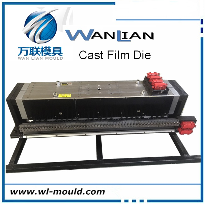 Cast film die head automatic die for extrusion stretch film or parafilm machine
