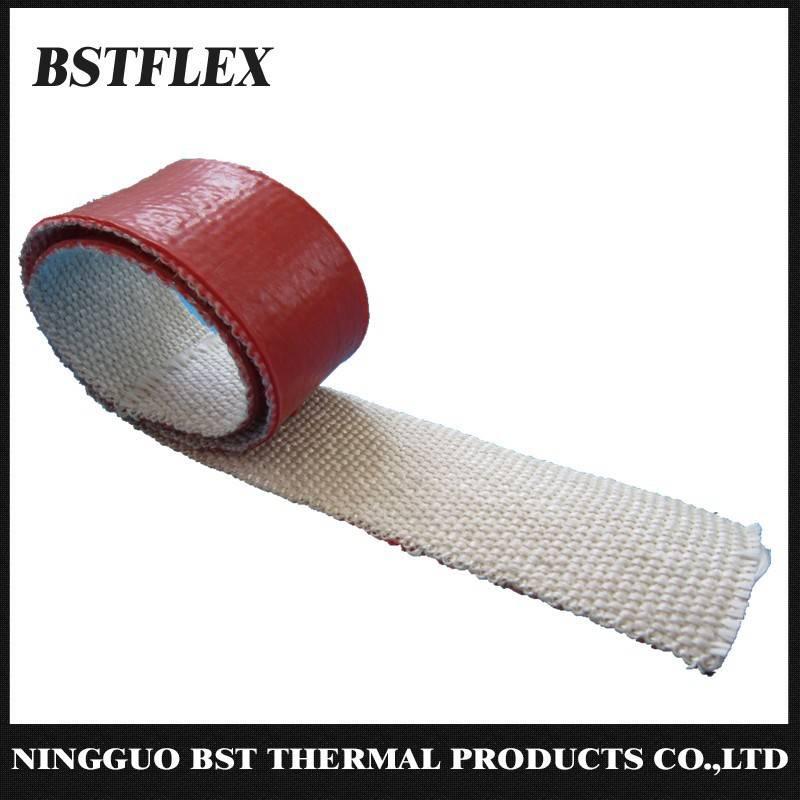 Silicone Rubber Coated Fiberglass Fire Tape
