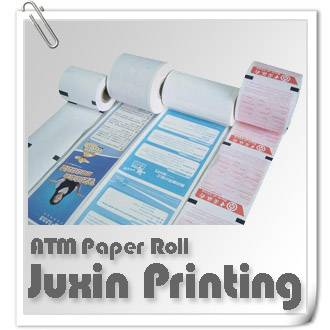 ATM Roll Tickets Paper