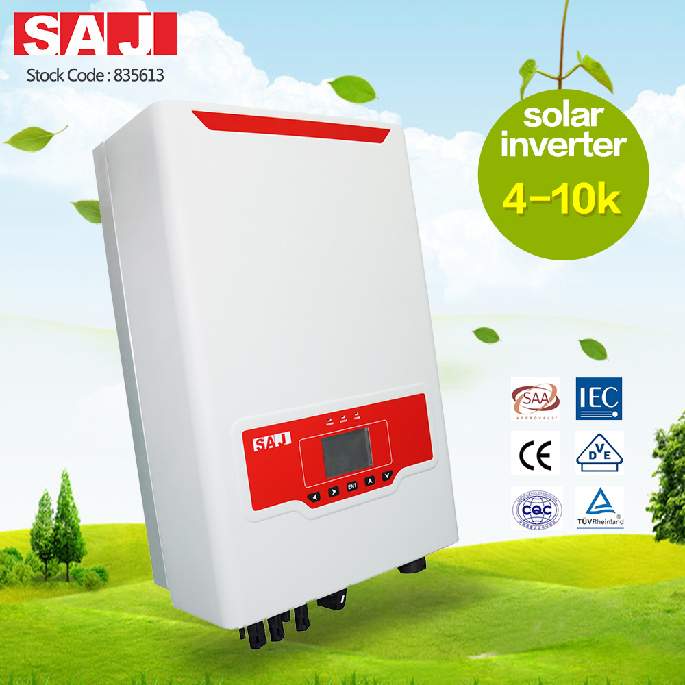 SAJ 380V 4kW 5kW 6kW 8kW 10kW Smart and Easy to Use Solar Grid Tie Inverter