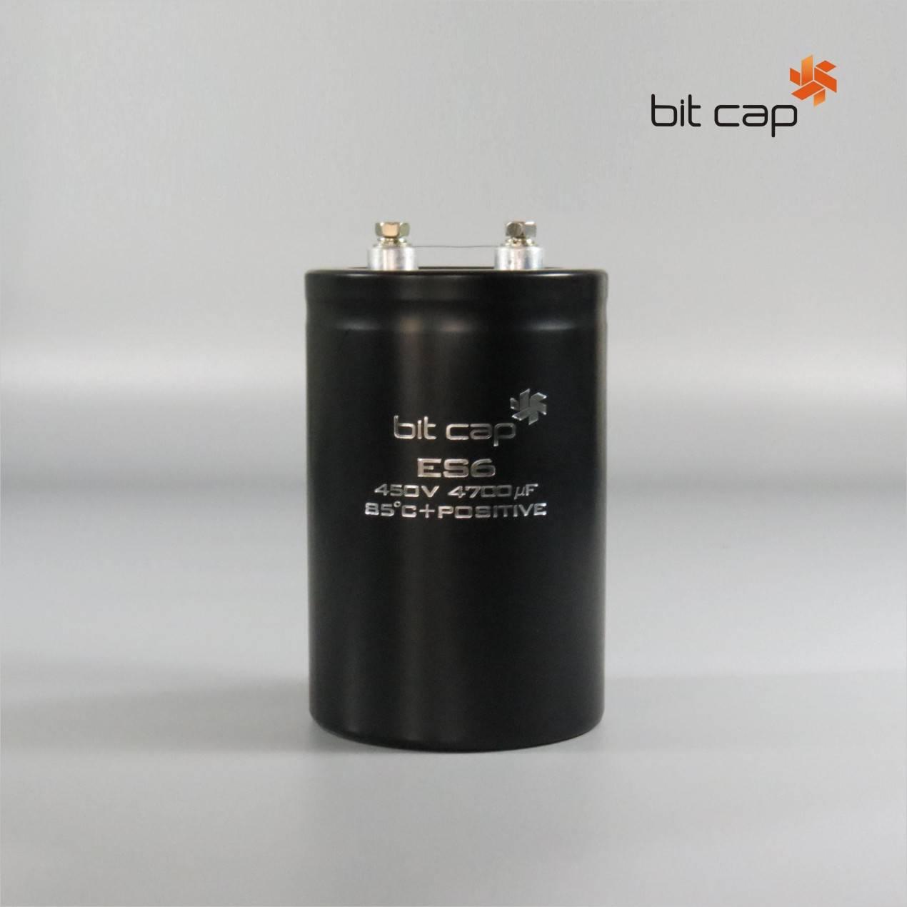 bit cap ES6  450V 4700uF  aluminum electronic capacitors