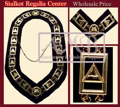 Masonic chain collar Gold