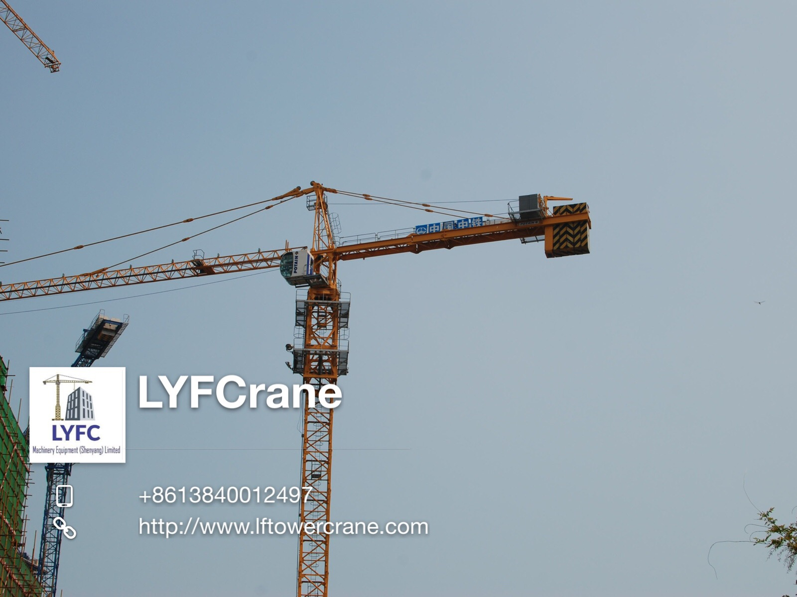 TOPKIT TOWER CRANE TOWER CRANE MC200A-10T 60M JIB 2020 NEW PRODUCT HOT SALE
