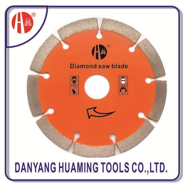 segmented cutting blade for masonry,brick,block,,concrete,stone