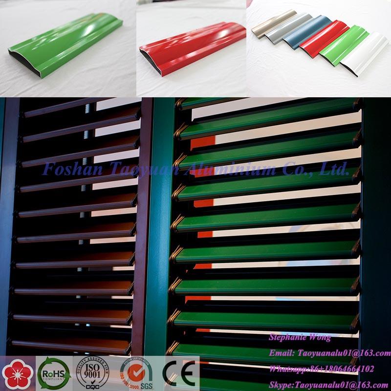 Aluminium Extrusion Profile for Aluminum Roller Shutter