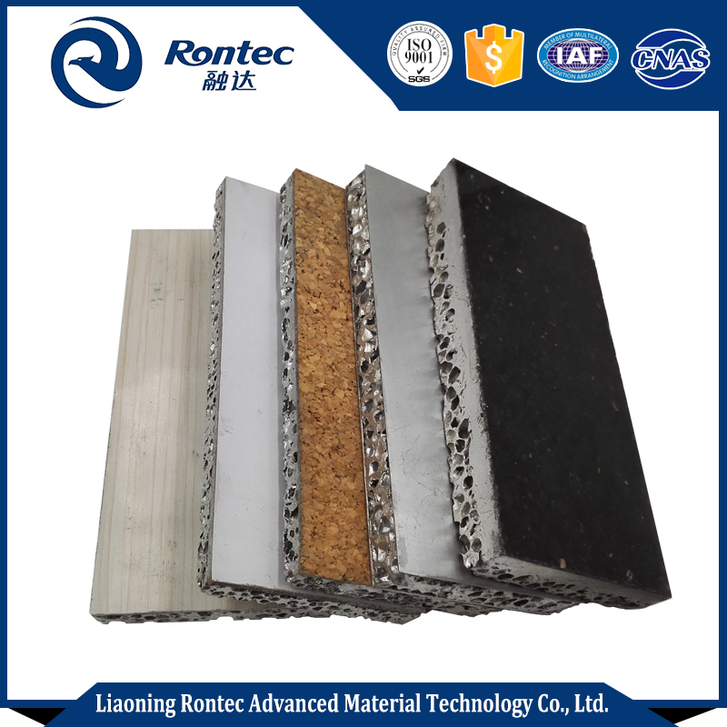 Heatproof and soundproof aluminum foam sandwich panels