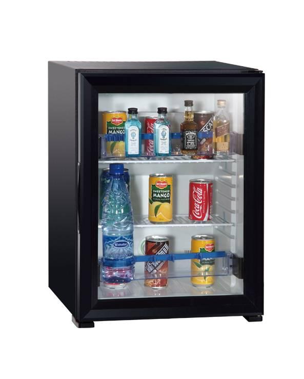 Custom 30 Liter Glass Door Mini Bar Fridge Wine Cabinets Fridge Case