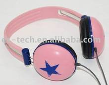 2014 new developed fashion headphone for cute girl