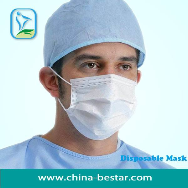 hygiene headloop face mask for virus protection