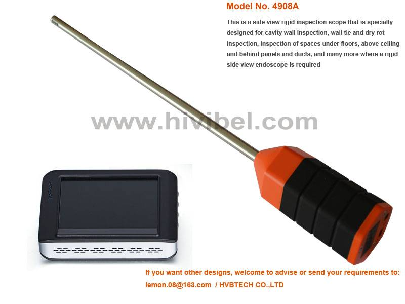 HVB Wall Tie Inspection Camera, Industrial Video Borescope Endoscope