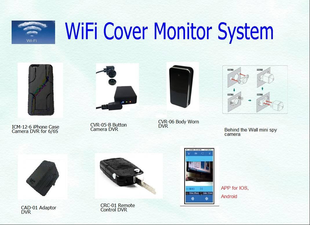 WiFi Direct Mini Camera DVR