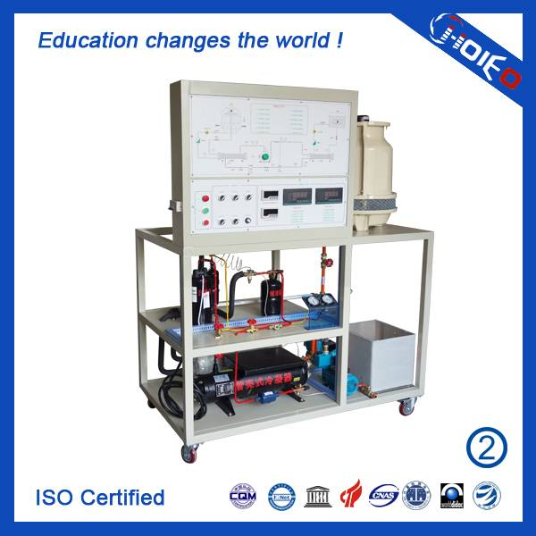 Refrigeration Compressor Performance Test Trainer,Vocation Technical Cooling System Analogue Trainin