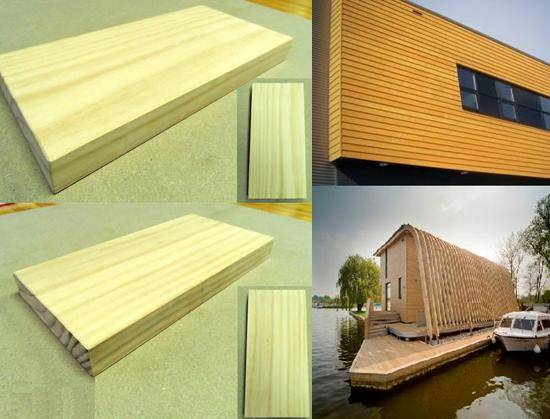 Acetylated Wood - outdoor application