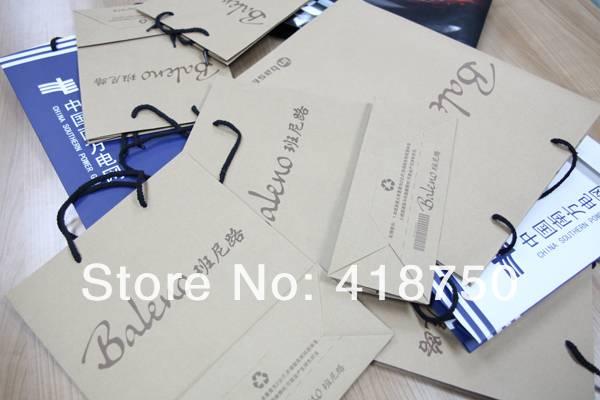 paper brand fashion hand bag make by handwork