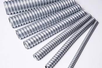 Single-lock/double lock flexible metal conduit
