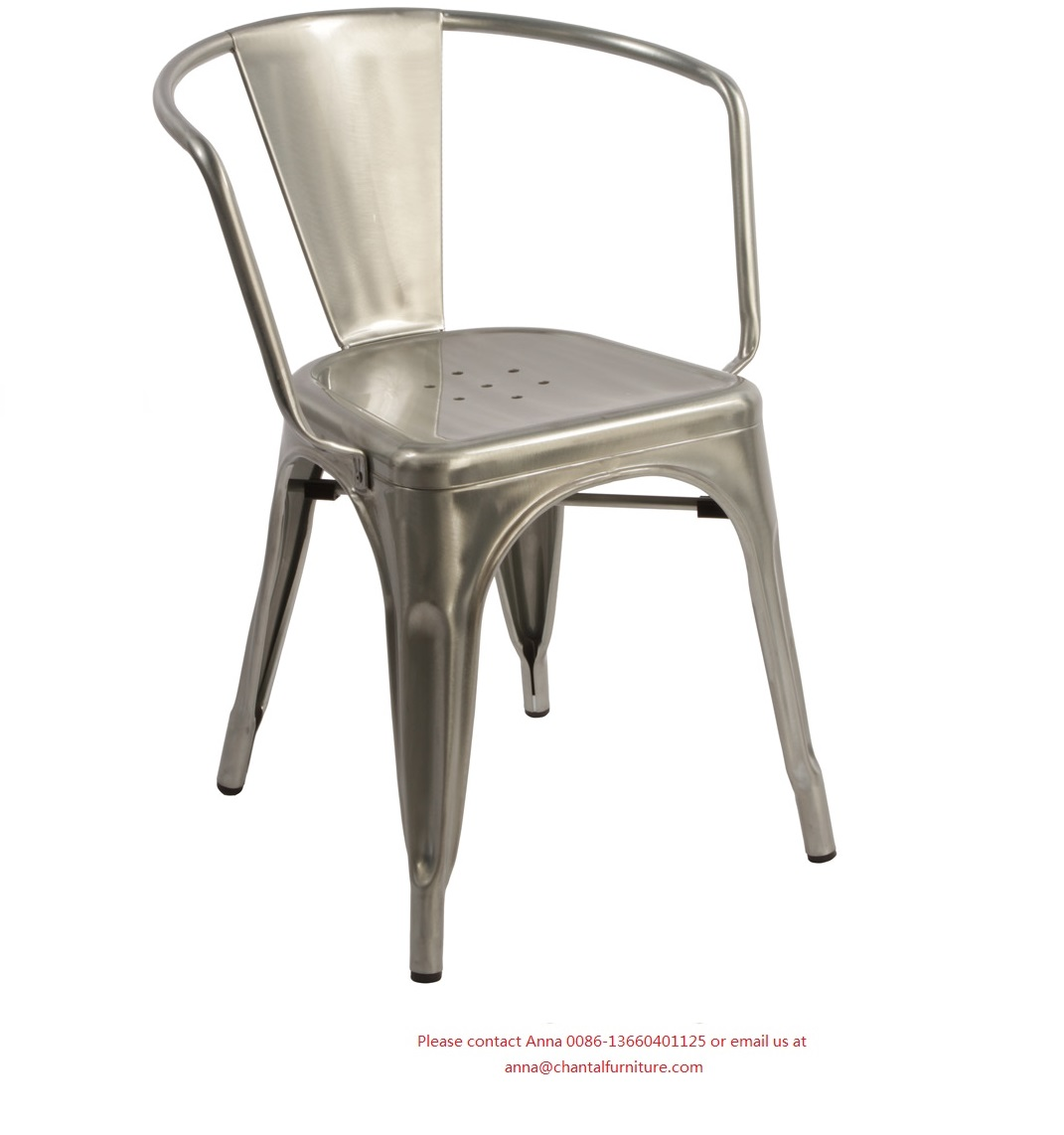 Metal Stool CMS-856M with armrest