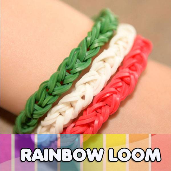 Factory Wholesale Latex free silicone rubber rainbow loom bands